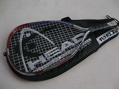 """CARRY CASE ONLY Head Titanium Racquetball Racquet Ti.195 XL with 3 5/8"""" grip"""