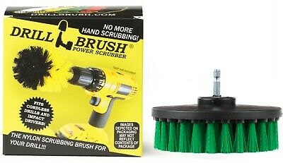 Carpet Brush Drill Attachment Medium Duty Scrubbing Drill Brush with quick ch...