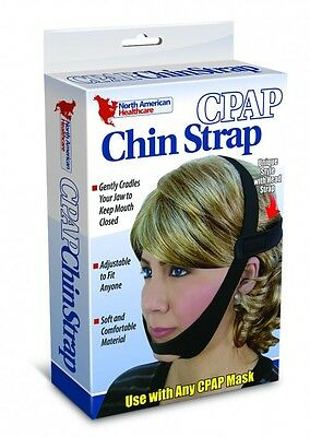 CPAP Chin Strap for Sleep Apnea Adjustable Head Strap Use with Any CPAP Mask