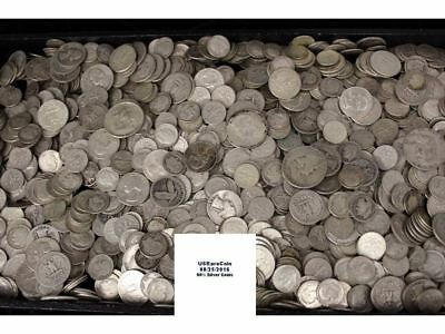 Five Dollars Face Value 90% US Bullion Silver Coins. Free shipping!