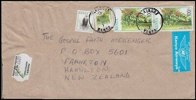 KENYA 2000's AIRMAIL COMMERCIAL COVER TO NEW ZEALAND (ID:563/D42498)