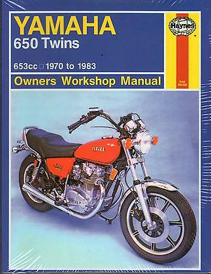 Haynes 341 1970-1983 Yamaha XS650 650 Twins Maintenance Service Shop Manual