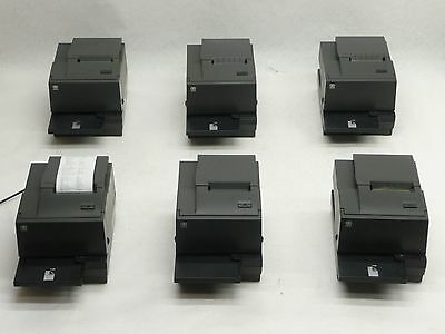 LOT OF 6 NCR 7167-2015-9001 RealPOS POS POINT SALE THERMAL RECEIPT PRINTER USB