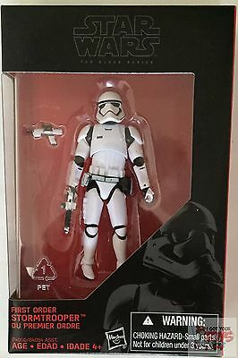 "FIRST ORDER STORMTROOPER Black Series Star Wars 2016 3.75"" Inch Action FIGURE"