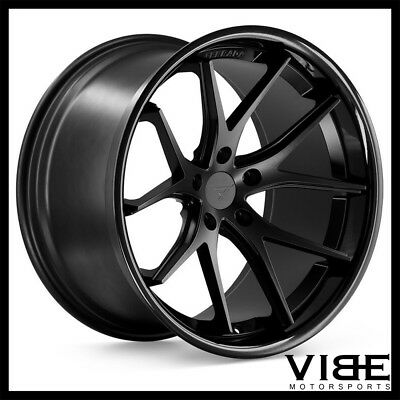 19 Eclipse Style Black Concave Wheels Rims Fits Infiniti G35 G35x