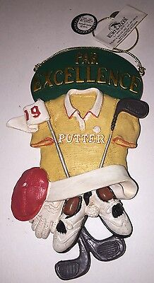 Kurt S. Adler Golf Par Excellence Putter - Christmas Tree Ornament