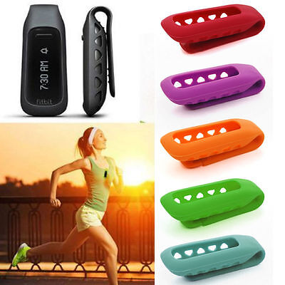 1x Replacement Silicone Clip Cover Protective Skin Case For Fitbit One Tracker