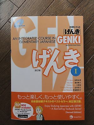 GENKI 1 Second Edition - An Integrated Course in Elementary Japanese I with CD