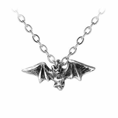 Alchemy Gothic Kiss Of The Night Pewter Pendant BRAND NEW