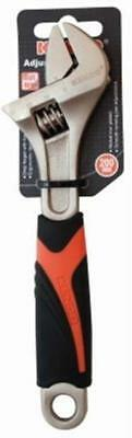 Kendo Adjustable Wrench 200mm Soft Grip 15102