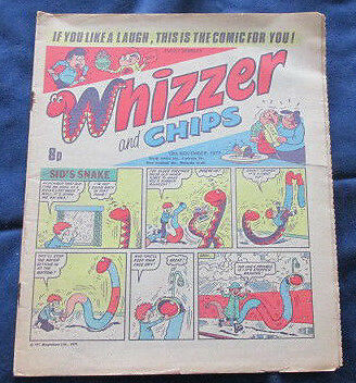 Whizzer and Chips Comic 12th November 1977