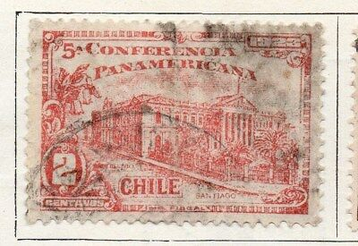Chile 1923 Early Issue Fine Used 2c. 098018
