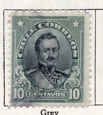 Chile 1911 Early Issue Fine Used 10c. 098064