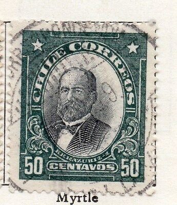 Chile 1911 Early Issue Fine Used 50c. 098069
