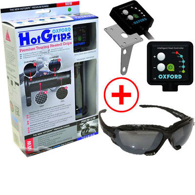 Motorrad Griffheizung OXFORD TOURING Griffe Hotgrips Heizgriffe Heated Grips TOP