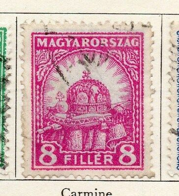 Hungary 1926 Early Issue Fine Used 8f. 098273