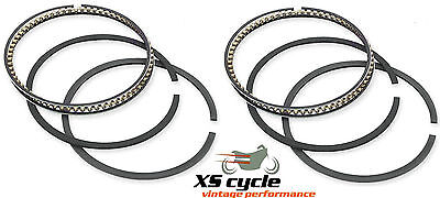 Yamaha XS650 piston rings Complete sets for 2 pistons in Std 75mm 74-84