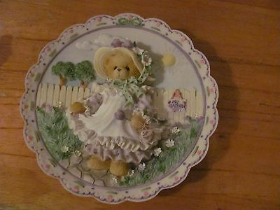 Cherished Teddies by Enesco Mother's Day 1997 Plate 203025 NICE