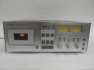 Vintage Teac A-650 Stereo Cassette Deck - For Parts Or Repair