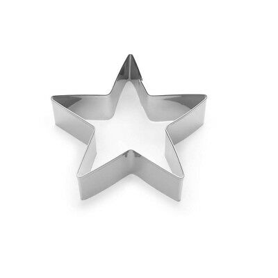 "Fox Run 3.5"" Cookie Cutter Star Shaped Biscuit Sandwich Donut Mold For Baking"