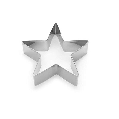 """Fox Run 4"""" Cookie Cutter Star Shaped Biscuit Sandwich Donut Mold For Baking"""