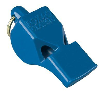 Fox 40 Classic Official 3-Chamber Pealess Whistle, Blue