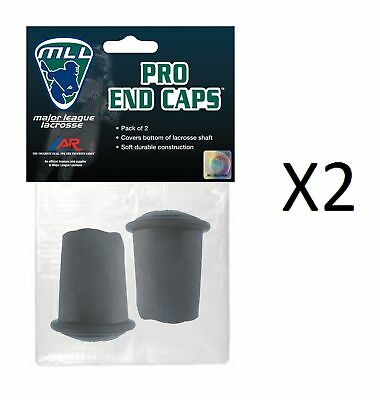 A&R Major League Lacrosse Licensed Soft Rubber Shaft End Caps 2 Pack (2-Pack)