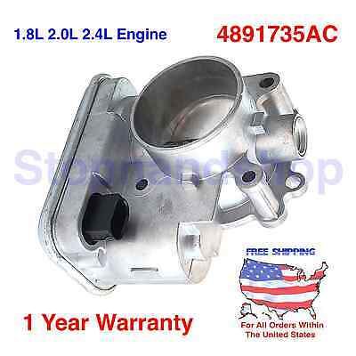 New Fuel Injection Throttle Body for 07-2016 Chrysler Dodge Jeep 1.8L 2.0L 2.4L