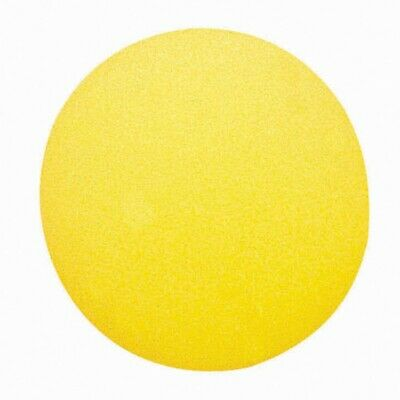 "Champion Sports RD7 Uncoated Regular Density Yellow Soft Foam Ball - 7"" Diameter"