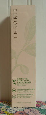 Sealed In Box Theorie Green Tea Ultra Luxe Hand Cream 3.4 Oz