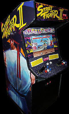 Mini Custom Street Figther II Arcade Cabinet Collectible Display
