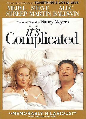 It's Complicated ~ New Factory Sealed DVD with Slipcover ~ FREE Shipping USA