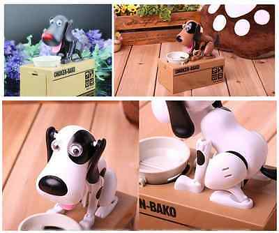 Kids Gift Piggy Bank Stealing Coins Doggy Automated Saving Money box for Xmas