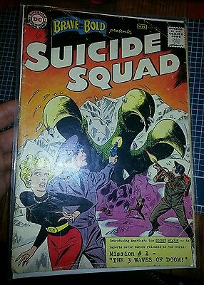 Brave and the Bold #25 GD/GD+ Range (Not CGC) *1st Suicide Squad! TAKING OFFERS!