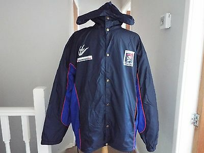 Newcastle Knights Nrl Australian Rugby League Isc Vintage Hooded Coat Size M 44""
