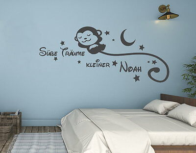 wandtattoo name kinderzimmer junge baby s e tr ume sticker wunschname sterne eur 24 74. Black Bedroom Furniture Sets. Home Design Ideas