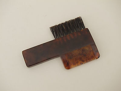 CARL AUBÖCK, kl. Kamm/Bürste / small Comb/Brush