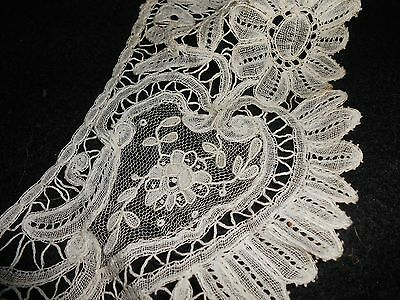 19th CENTURY BRUSSELS MIXED LACE COLLAR