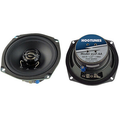 Hogtunes Generation 3 Front 5-1/4 in. Replacement 2 OHM Speakers - 352F-AA