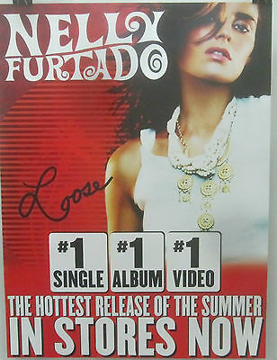 Nelly Furtado - LOOSE - 2-Sided Promo Poster - VG++   [2006]