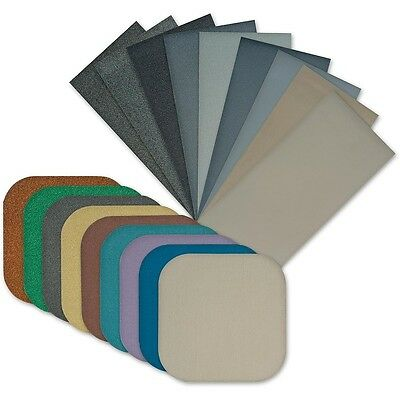"Micro Mesh Bundle - 2""x2"" Cushioned Sanding Pads, 9x6""x3"" Kit"