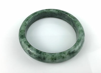 Bracelet Jonc Jade Jadéite Vert 63mm 100% Naturelle 6,3cm Bangle JADE N50