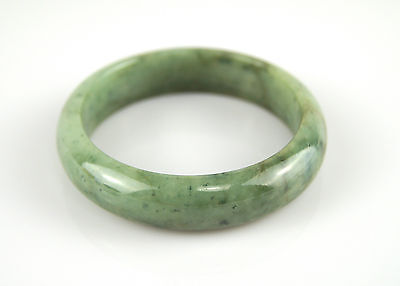 Bracelet Jonc Jade Jadéite Vert 57mm 100% Naturel Artisanal 5,7cm Bangle N3
