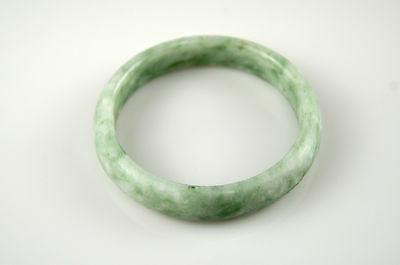 Bracelet Jonc Jade Jadéite Vert 62mm 100% Naturel Artisanal 6,2cm Bangle N13