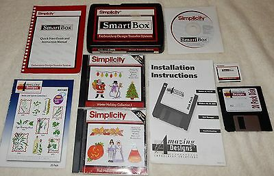 Simplicity Smart Box Embroidery Design Transfer System Missing CORD