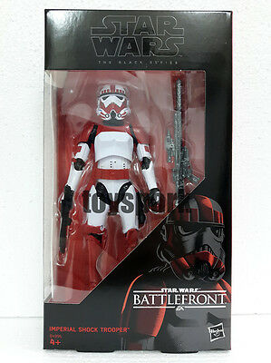 "STAR WARS Black Series 6"" Battlefront IMPERIAL SHOCK TROOPER Walmart Exclusive"
