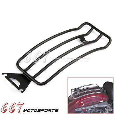 Motorcycle Rear Rack Fender Luggage For FLHR ROAD KING TOURING MODELS WITH SOLO