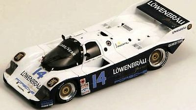 #14 LOWENBRAU Porsche 962 1986 1/43rd Scale Slot Car Waterslide Decals