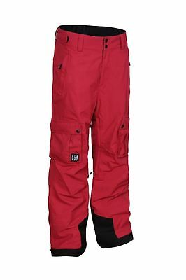 Planks Good Times 2 Layer Cargo Pants 2017 Red