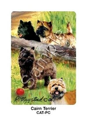 CAIRN TERRIER  Deck of Playing Cards by R. Maystead